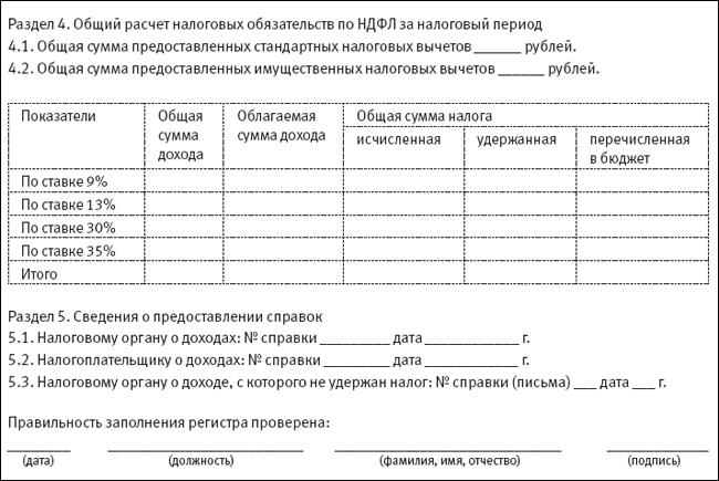 Налоговый Регистр Для 6 Ндфл Образец - фото 6
