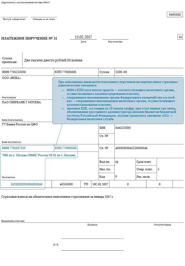 Ошибки в платежках по взносам в ПФ, ФСС, и ИФНС: автоматическое исправление – ООО «Бизнес-Профи»