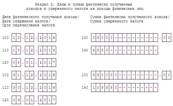 Срок перечисления НДФЛ в отчете по форме 6-НДФЛ