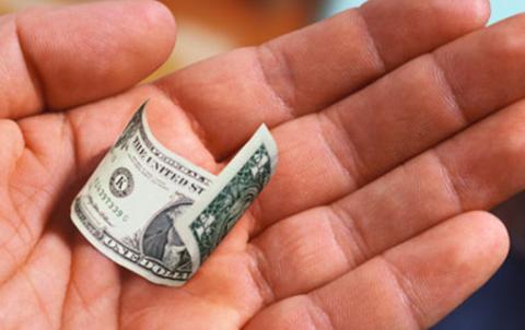 Доллар подешевел до трехлетнего минимума