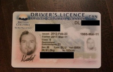 Черный штамп об ИНН гражданина налоговая не поставит в водительские права
